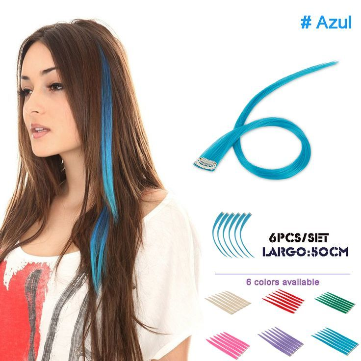 Find More Clip In Hair Extensions Information About 6pcspack