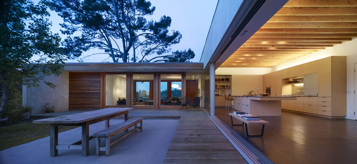 Los Angeles, California // Architects: Standard // Photo: Benny Chan on house designs for retirement, house plans with separate garages, house designs for handicapped, house designs for home, house plans for elderly,