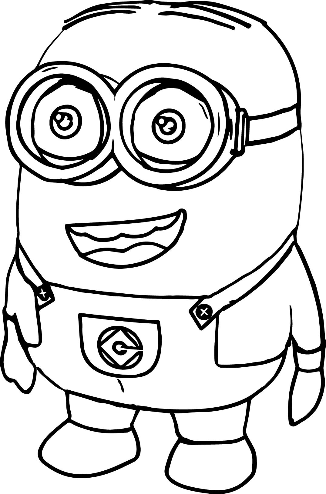 Awesome Minions Large Plush Style Coloring Page Coloring Pages Bible Coloring Minions [ 1630 x 1075 Pixel ]
