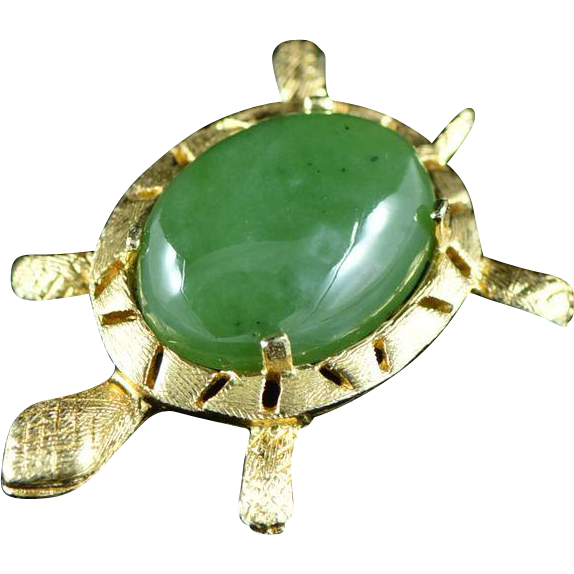 14k Yellow Gold Estate Moss Agate CharmPendant Jewelry Is Me:Great Holiday Gifts Him or Her Vintage to Modern