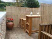 15 Garten-Screening-Ideen zum Erstellen eines Garten-Privacy-Screens #di  - balcony garden #kleiner Garten #kleiner Garten kinderfreundlich #bambussichtschutz