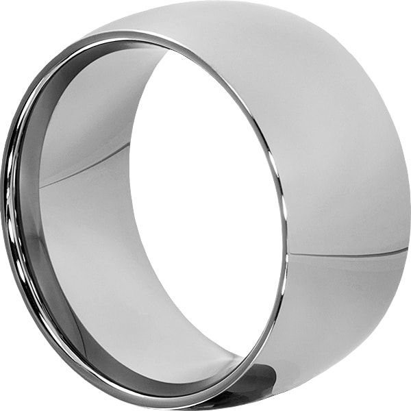 Eclipse Mens Extra Wide Statement Rings Mens Wedding Bands Tungsten