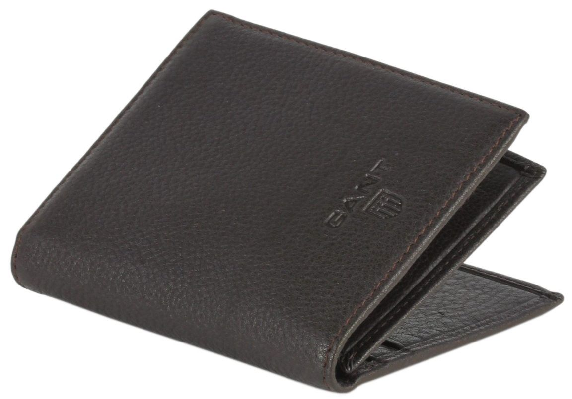 cb788a8edd Gant Wallet - Brown Leather Card Wallet #Gant #Mens #Wallet | Gant ...