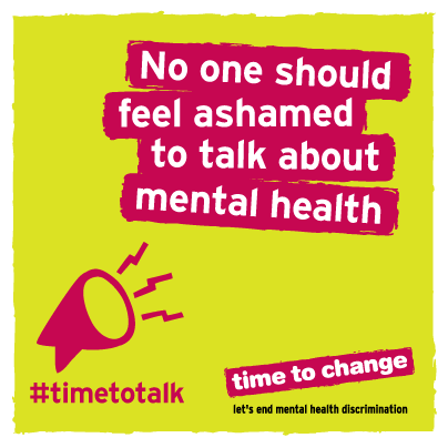 Lets Talk About Mental Health And Get Rid Of The Stigma Timetotalk Day