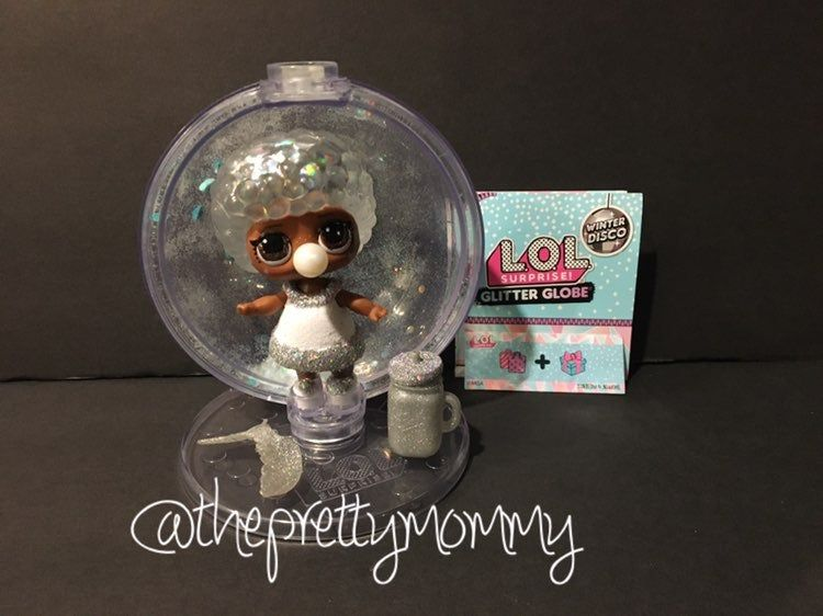 Brand New//Sealed Lot of 10 L.O.L Surprise Winter Glitter Globe
