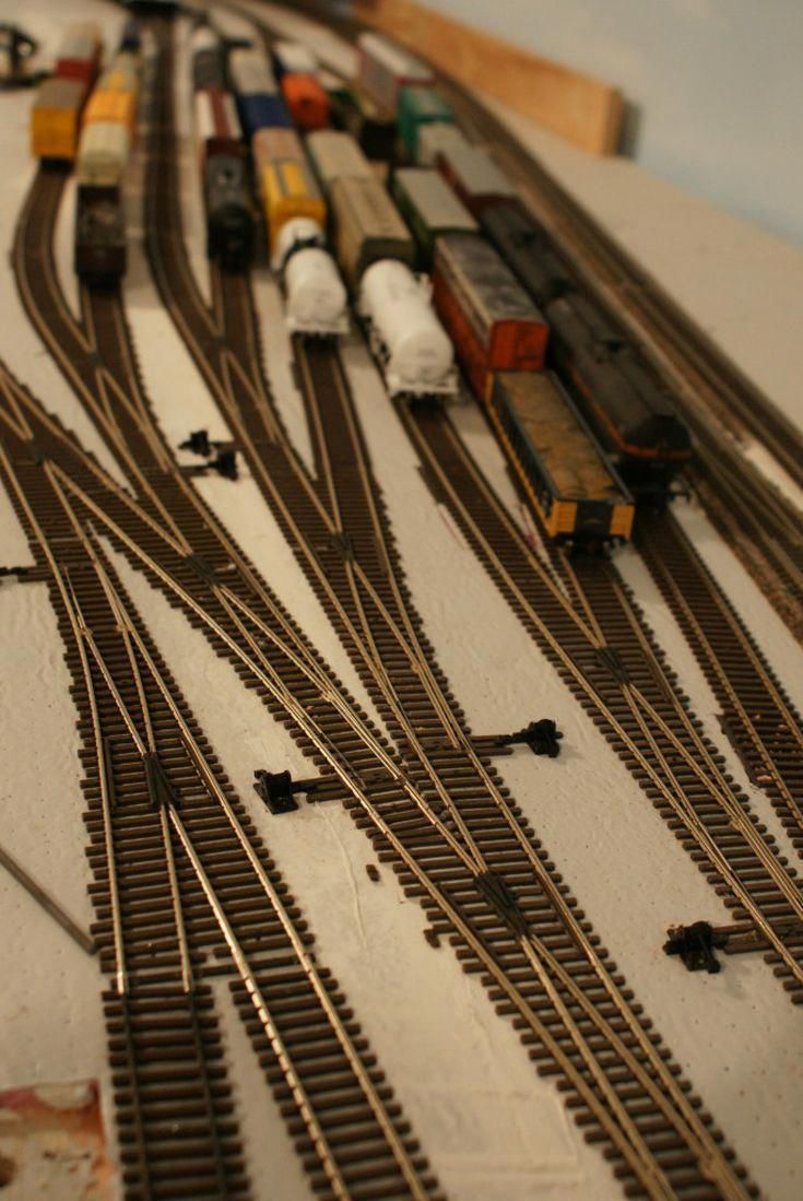 Understanding Model Railroad Switches  Modelrailway