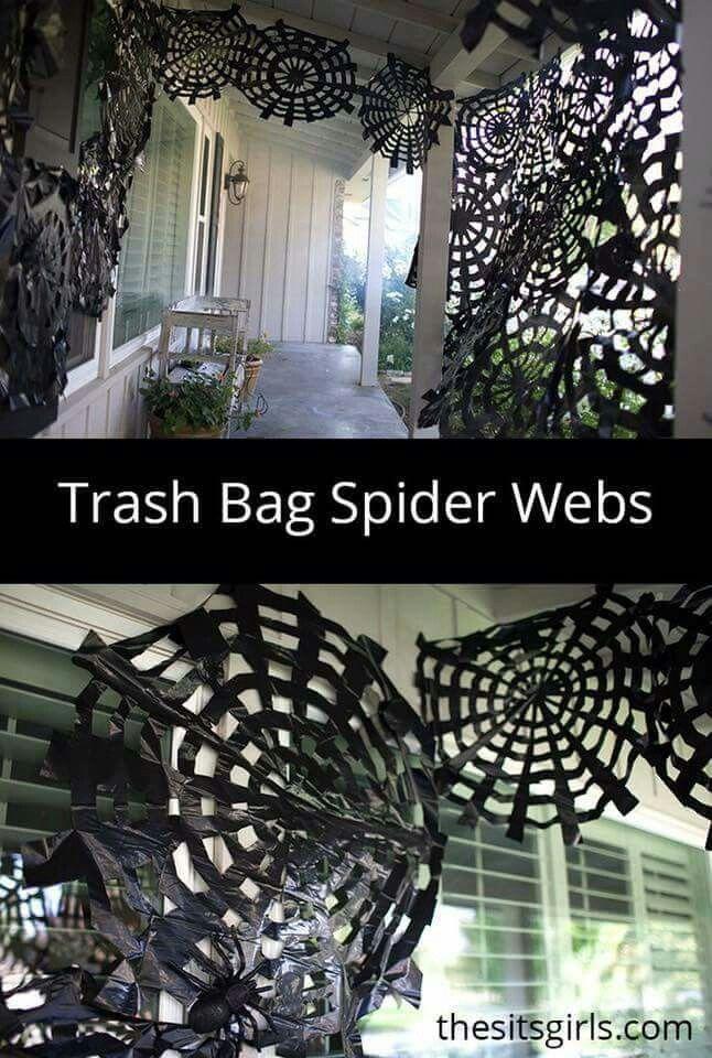 Pin by Trudy Maldonado on Halloween Deco Pinterest Halloween - spider web halloween decoration