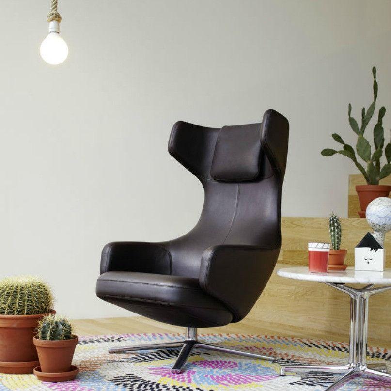 antonio citterio grand repos polyurethane foam swivel. Black Bedroom Furniture Sets. Home Design Ideas