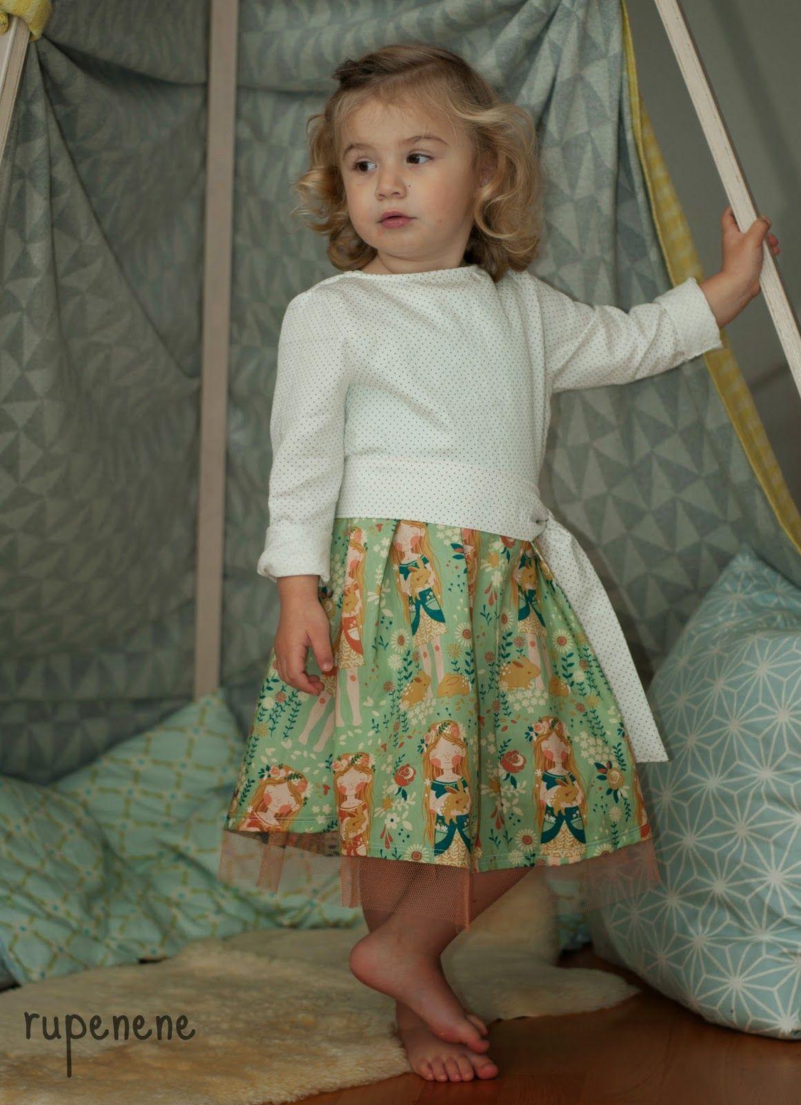 lillesol & pelle Schnittmuster/ pattern: Kleid mit Schärpe