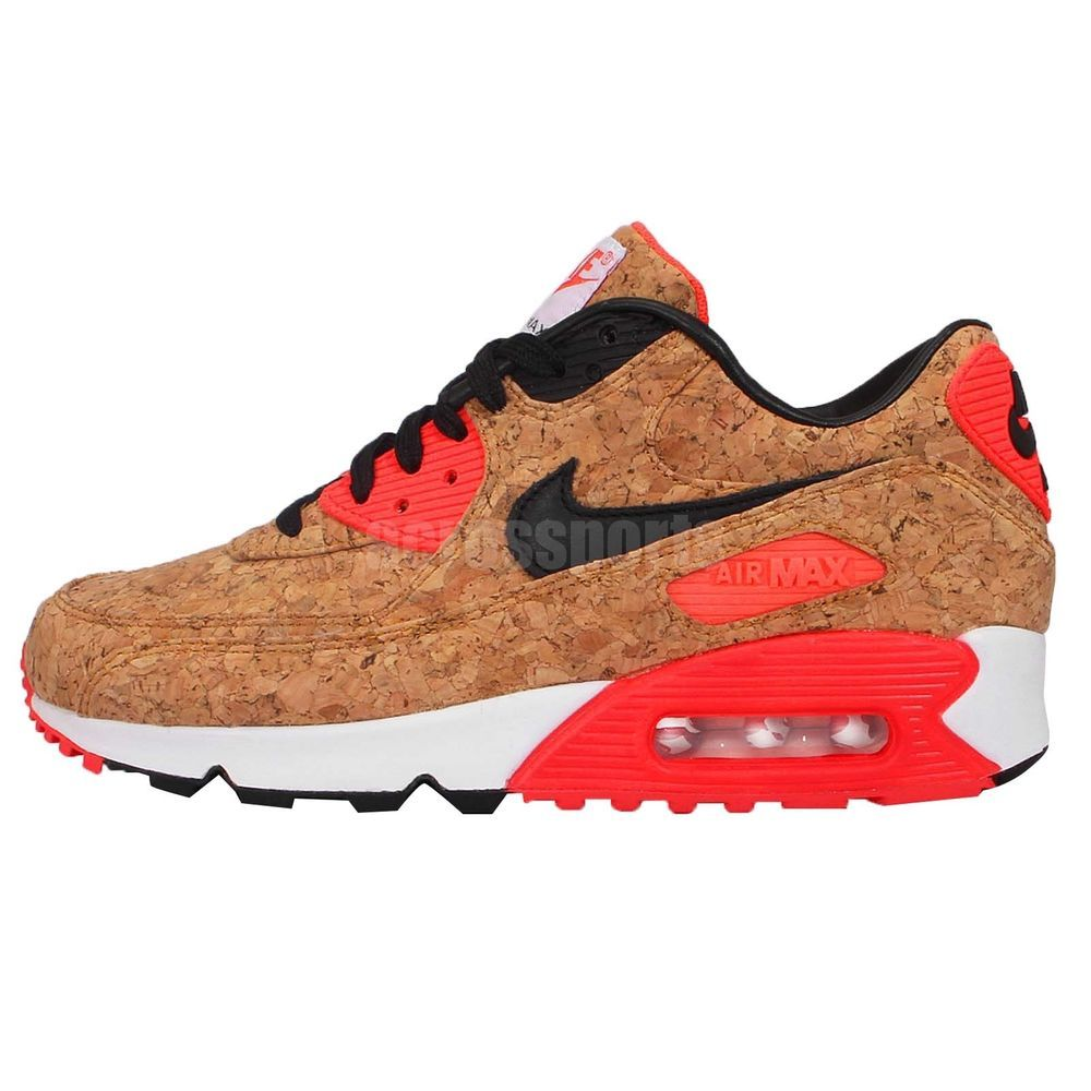 huge discount ca70a c1b2a Wmns Nike Air Max 90 Anniversary 25 Cork Infrared Womens Running Shoes  Sneakers http