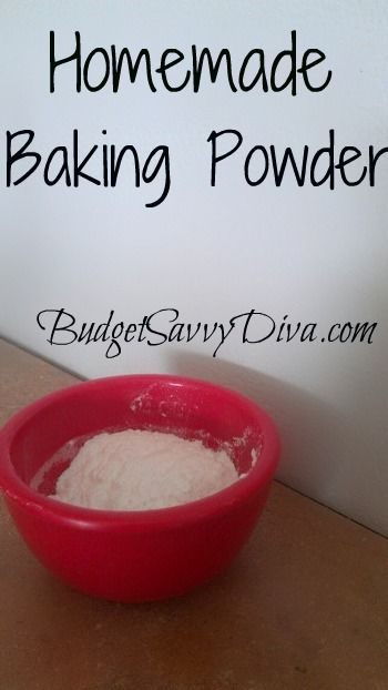 Photo of Homemade Baking Powder Recipe