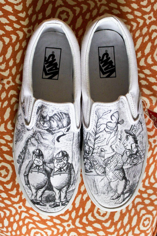 scarpe vans alice nel paese delle meraviglie