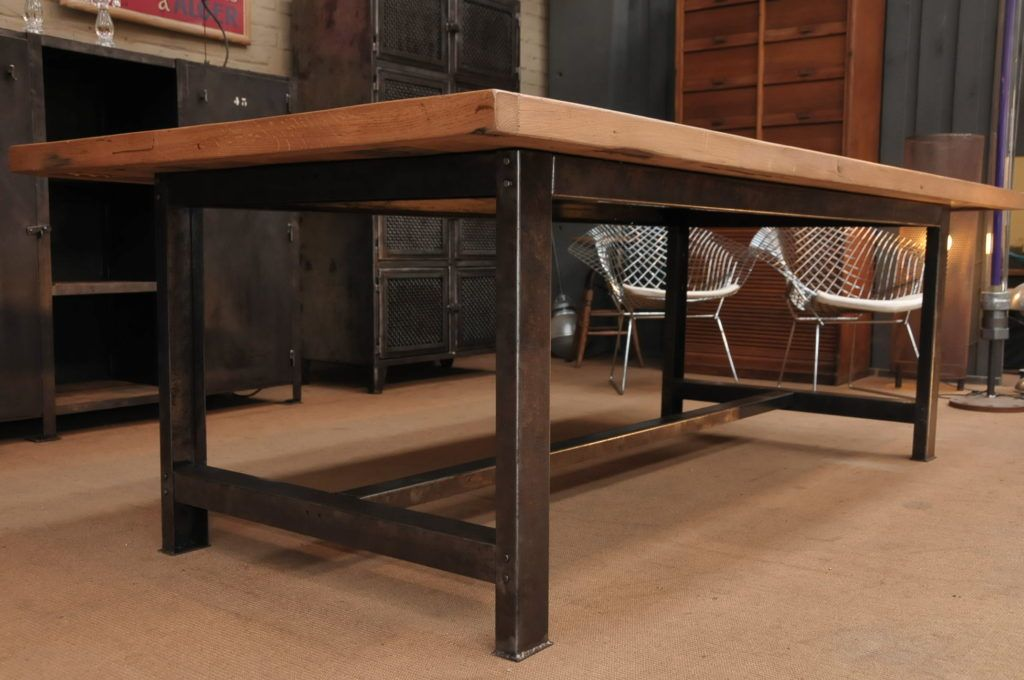 Incroyable Www.pixball.com Wp Content Uploads 2016 06 Small Industrial Dining Table  At Corner Home Kitchen Ideas Industrial Table Diy Industrial Table  Top 1024x680
