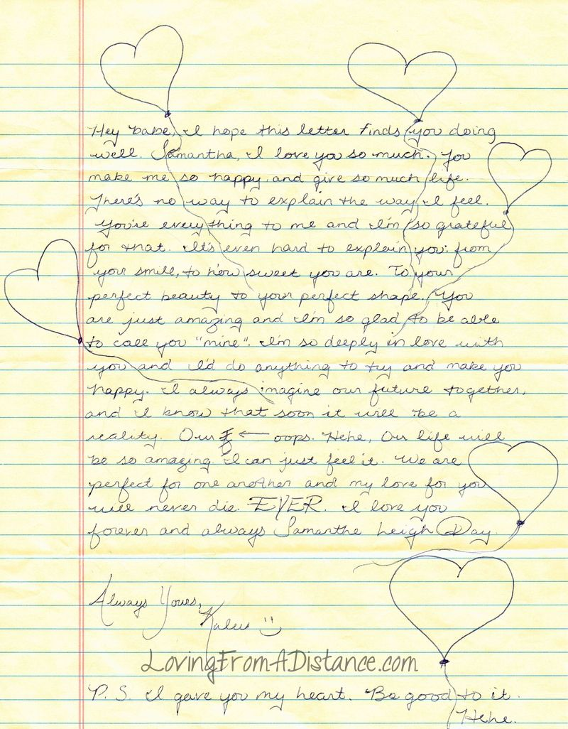 Love Letter For Husband Long Distance from i.pinimg.com
