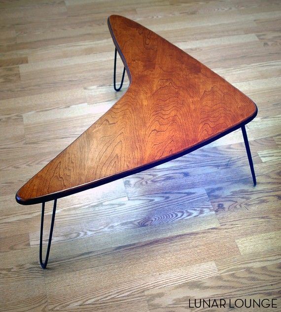 Love love love!    Booma Mid coffee table  Eames Era  Mid by lunarloungedesign, $185.00