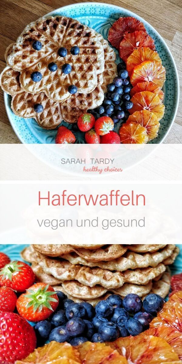 Haferwaffeln - sarah tardy
