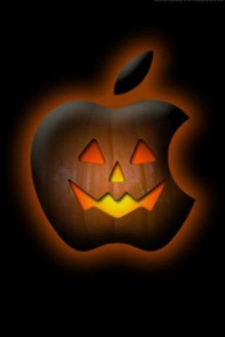 Halloween Pumpkin Apple Background For Iphone Halloween Wallpaper Iphone Wallpaper Iphone Christmas Apple Wallpaper Iphone