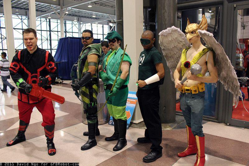 Red Lantern Guy Gardner, Green Arrows, Green Lantern and ...