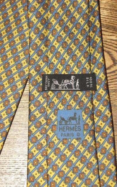 412c8ee0b829 Authentic Vintage Hermes Paris Classic Men's Silk Necktie Tie - For Sale on  Ebay