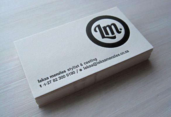 Business Card Letterpress Business Card Design Letterpress Business Cards Business Card Design
