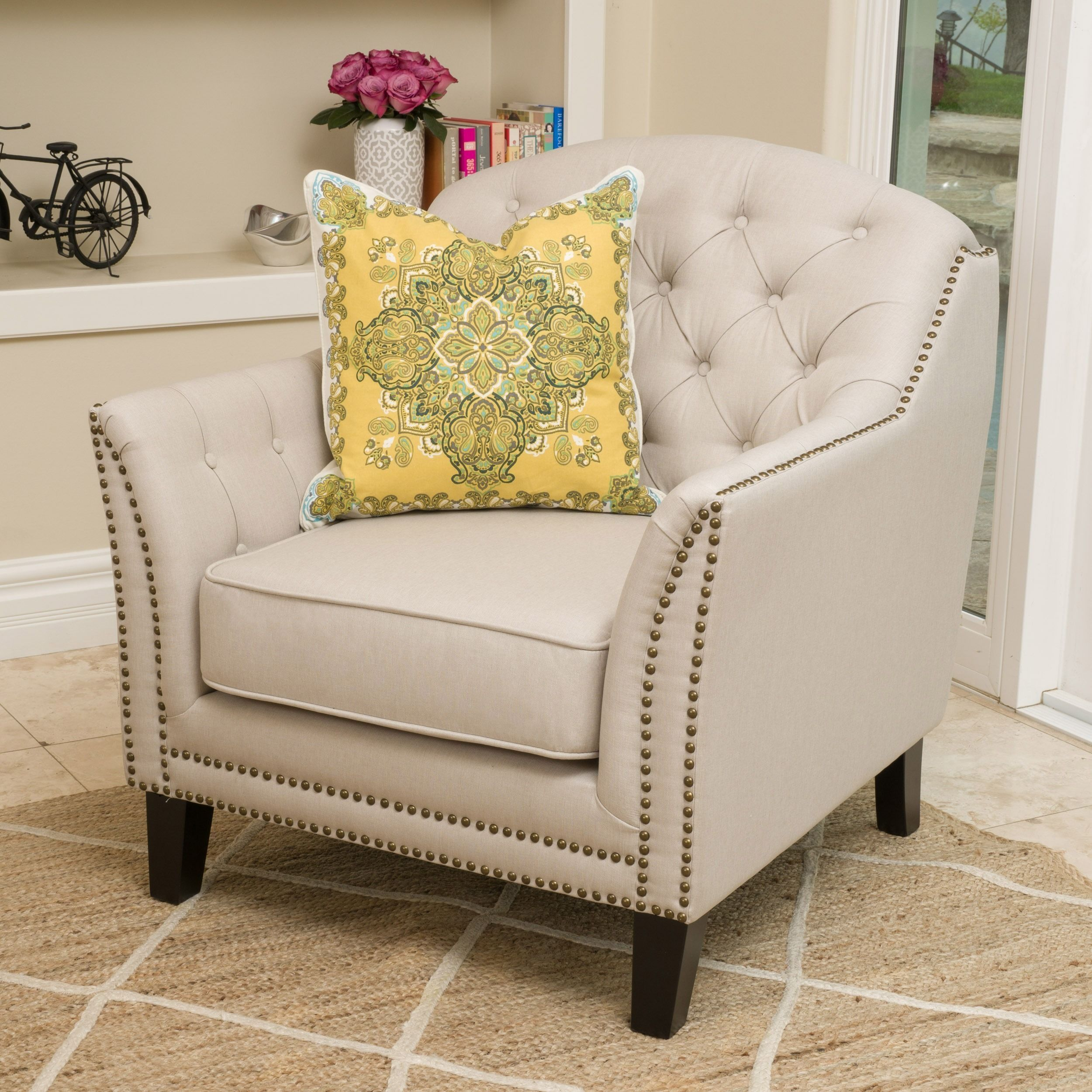 Coatbridge Fabric Club Chair By Christopher Knight Home (