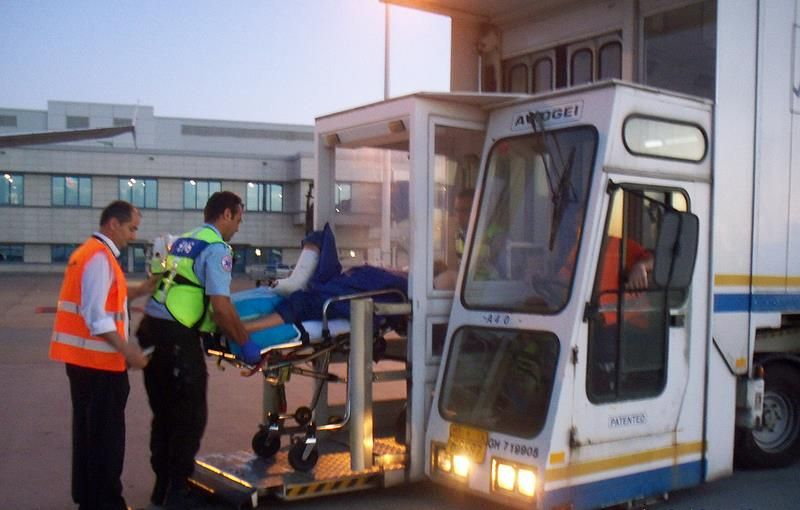 The Air Ambulance International Medical Hi-lift vehicle is - transport nurse sample resume