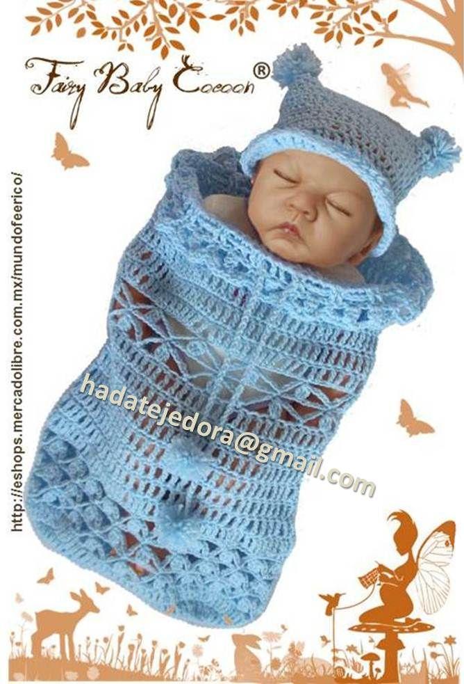 Capullo para bebé Colección primavera-verano Tejido en crochet ...