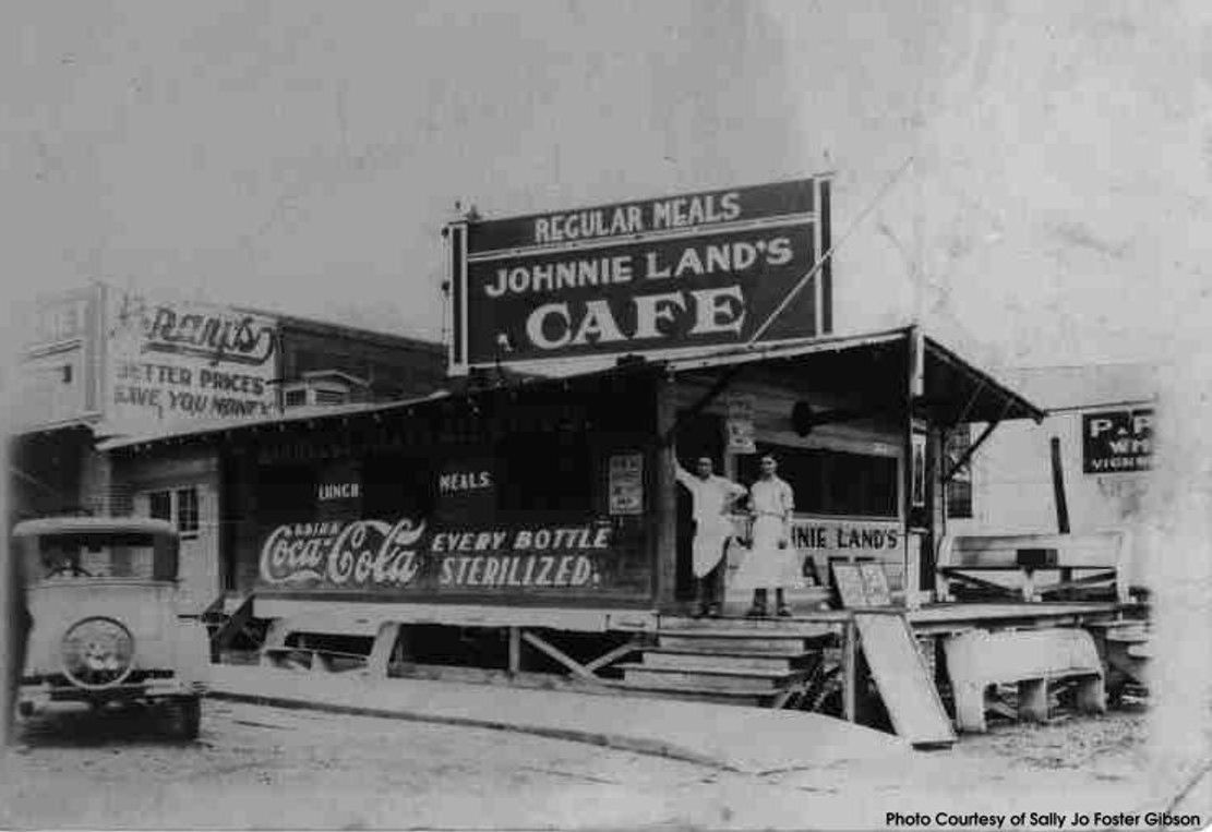 Johnny Land S Cafe Tallulah Hometown Small Towns Tallulah