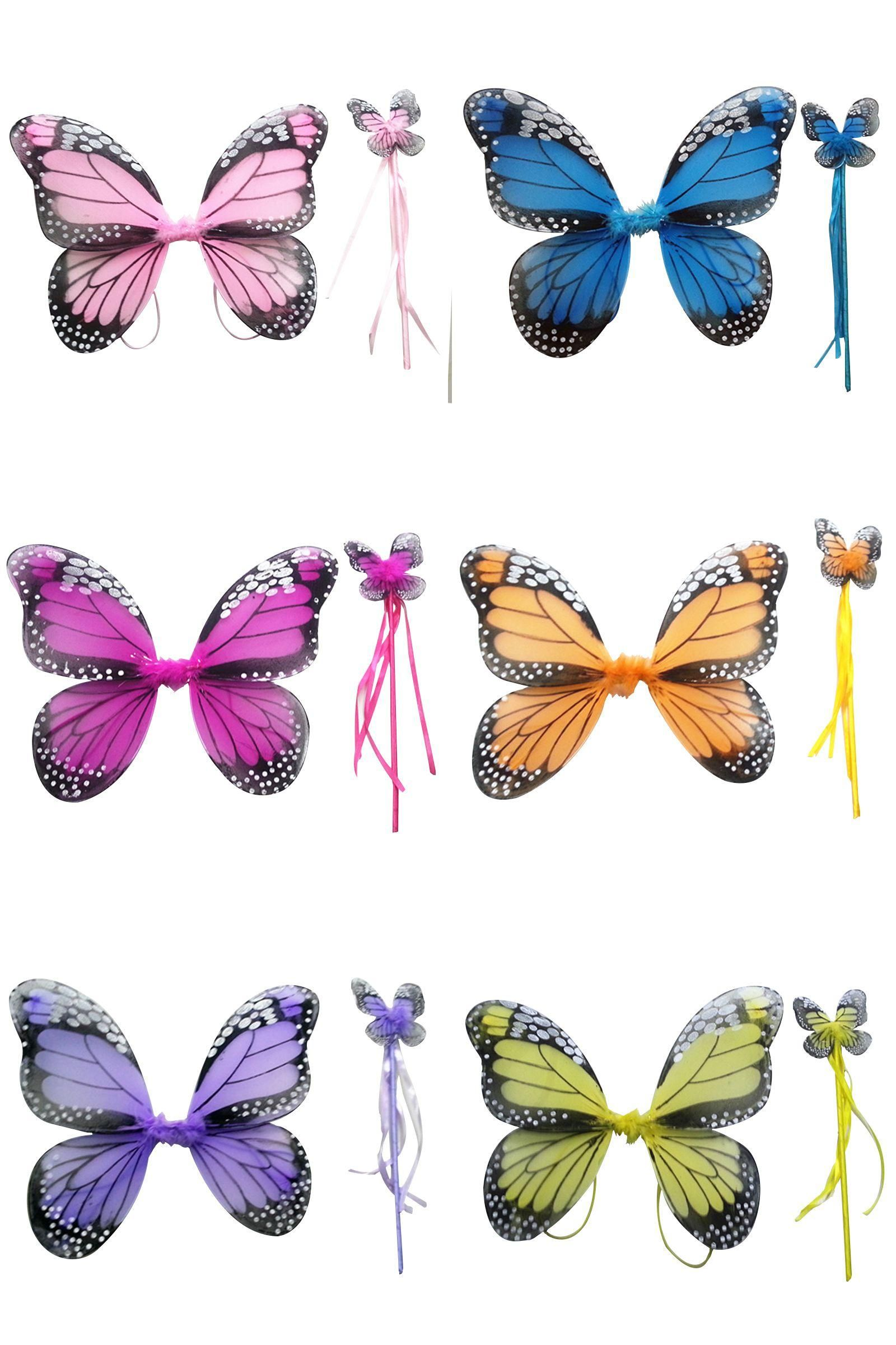 Orchid Monarch Butterfly Child Wings