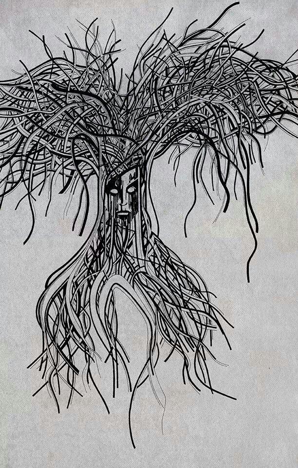Tree of life #2 #illustration #drawing www.da-conceicao.com