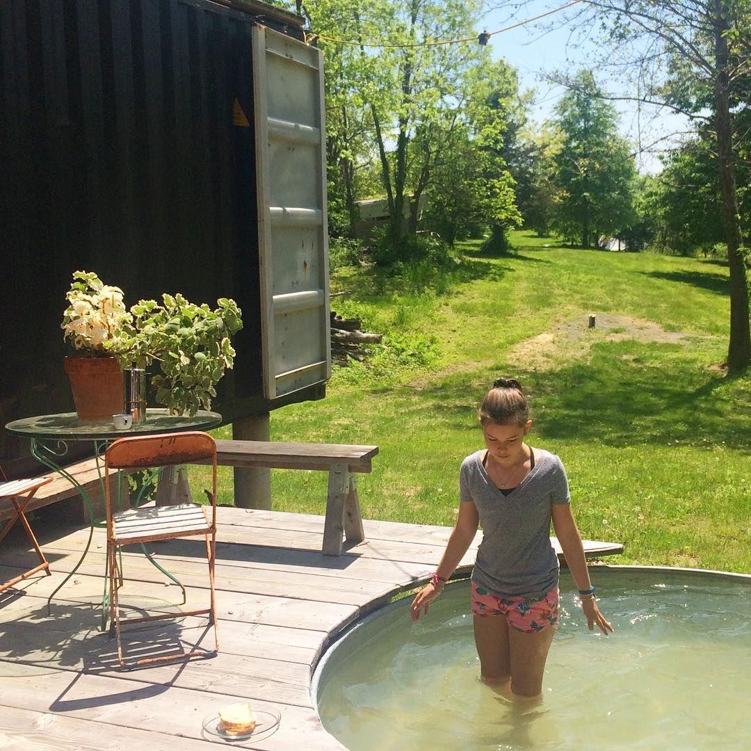 Stock Tank Pools Decouvrez Les Nouvelles Piscines Dans Des Cuves En