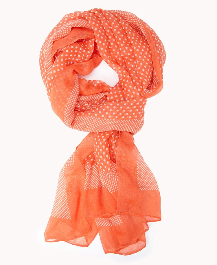 Polka Dot Scarf | FOREVER21 Scarfs in the summer? Yes ...