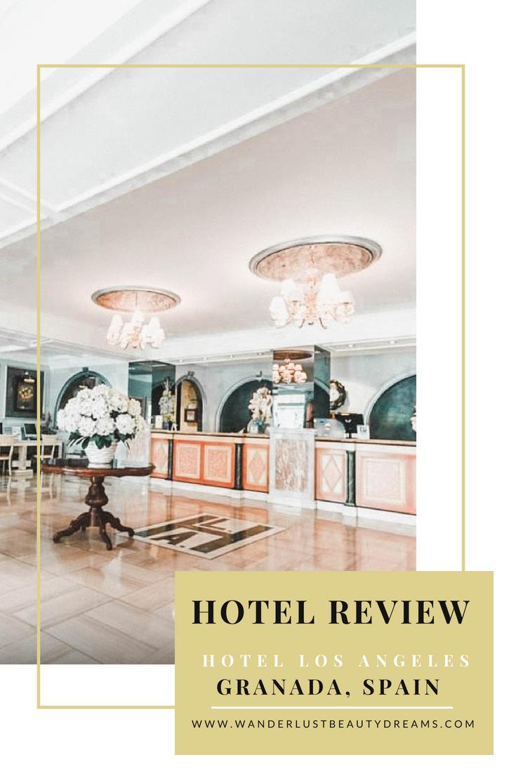 Hotel Review Hotel Los Angeles Granada Spain Travel