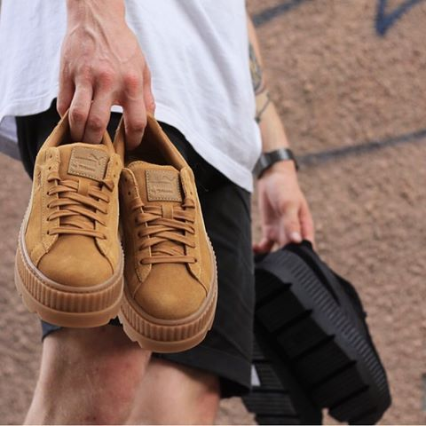 Puma Fenty Cleated Creeper Golden Brown 366268 02