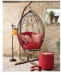 Indoor Swing Chair fashion iron rocking chair swing chaise lounge hanging chair