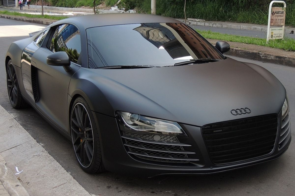 matte audi r8 best car for people with way too much money that are never going to go fast. Black Bedroom Furniture Sets. Home Design Ideas