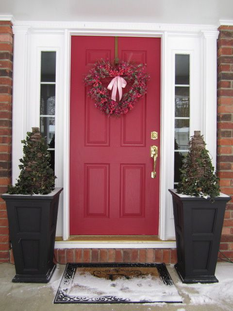 A Heart Felt Welcome. Front Door ColorsRed ...
