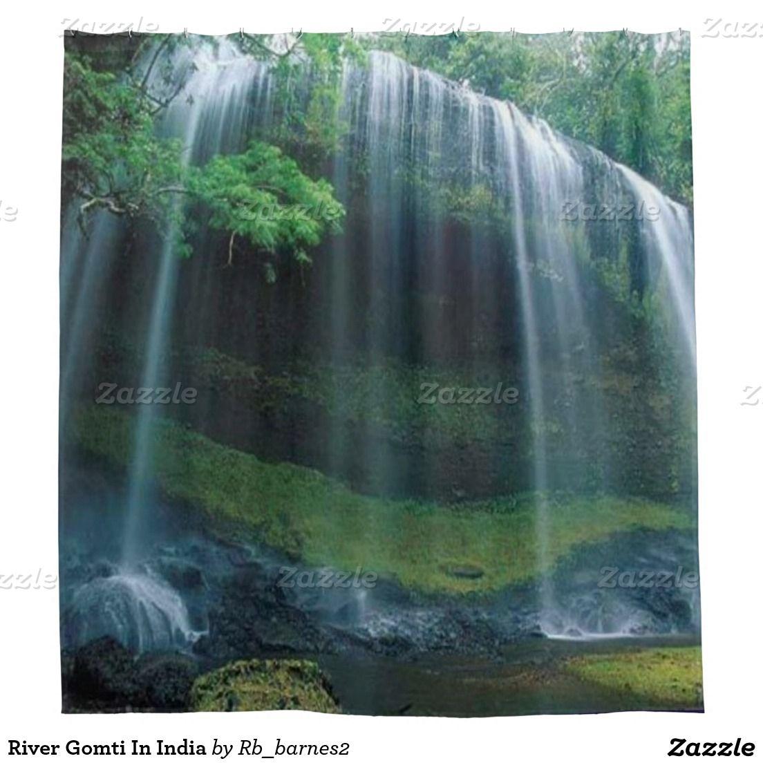 River Gomti In India Shower Curtain | Zazzle.com
