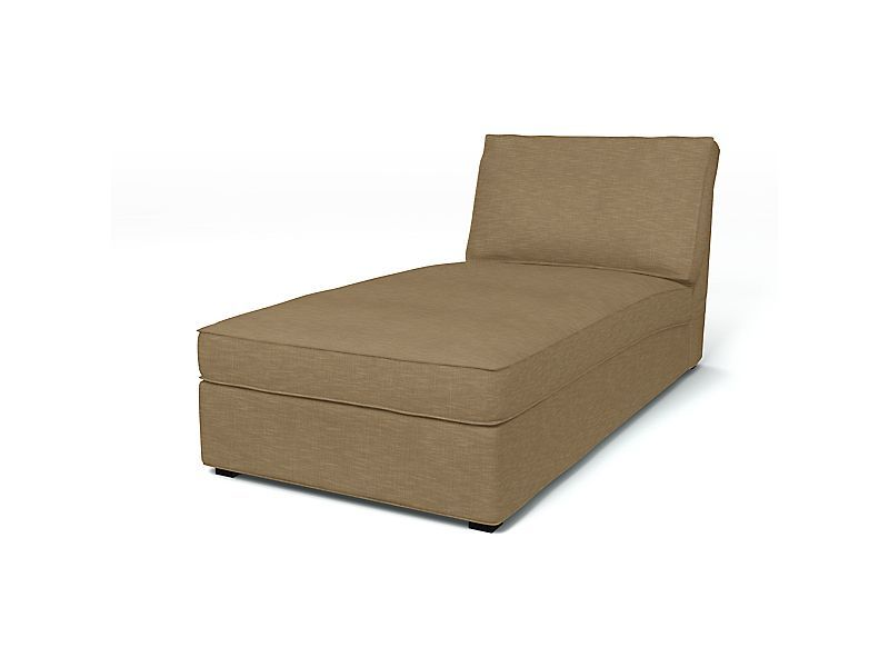 Firma som lager trekk til IKEAsofaer . Kivik, Sofa Covers, Chaise Longue, Regular Fit Tegnér Melange Sage Brown