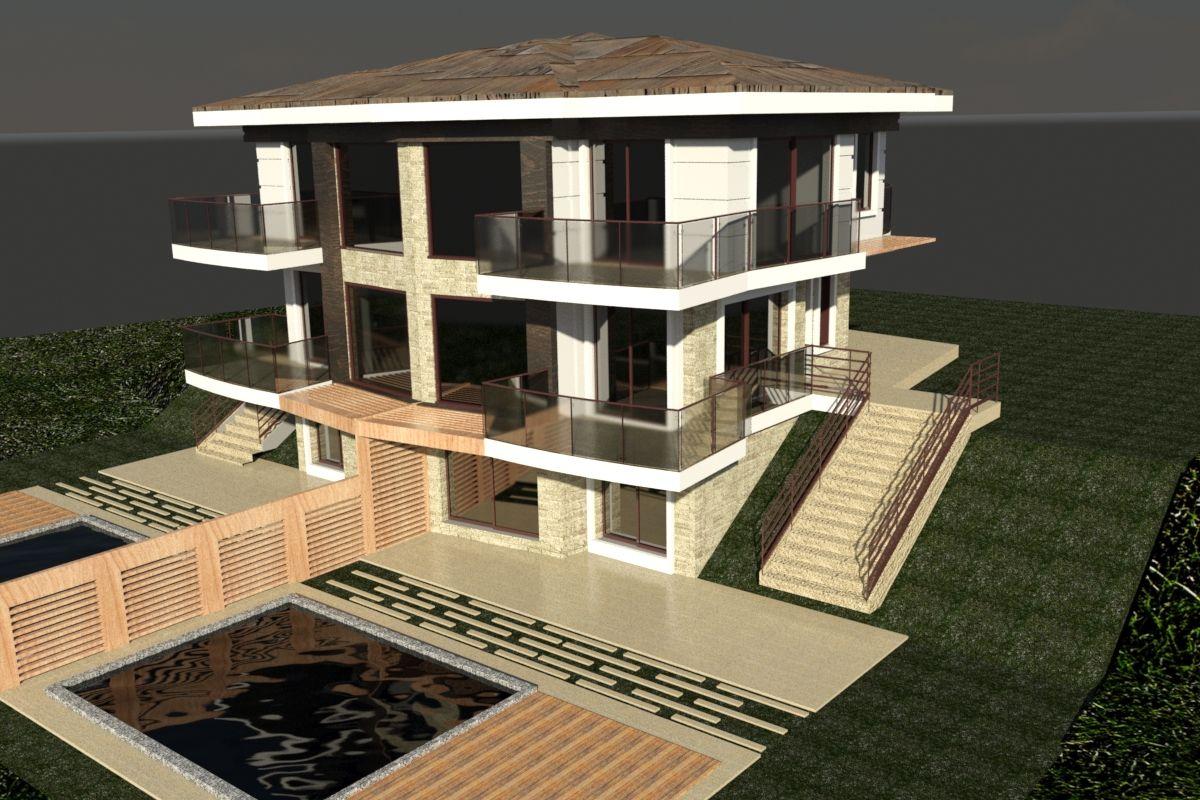 Izmir truthahn villen äußere villa design