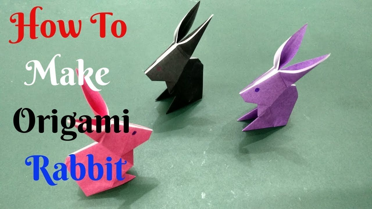 Photo of How To Make Paper Rabbit #1 | Diy Origami Rabbit Paper | Home Diy Crafts Paper