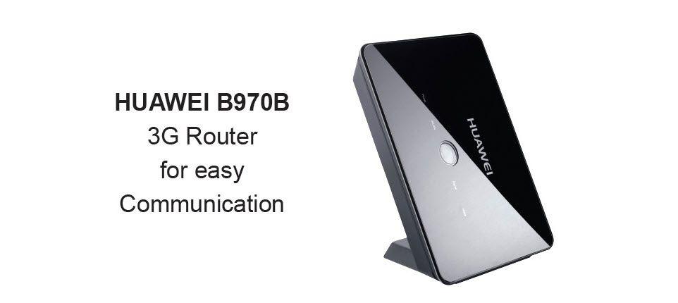 HUAWEI B970B 3G Wireless Gateway  7.2M HSDPA