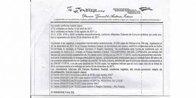 Denuncian otro gran negociado con medicamentos vencidos. ##Ciudadanoapy #QuieroSaber #ImpuesrosParaPrebendarismo #ContratacionesPublicas