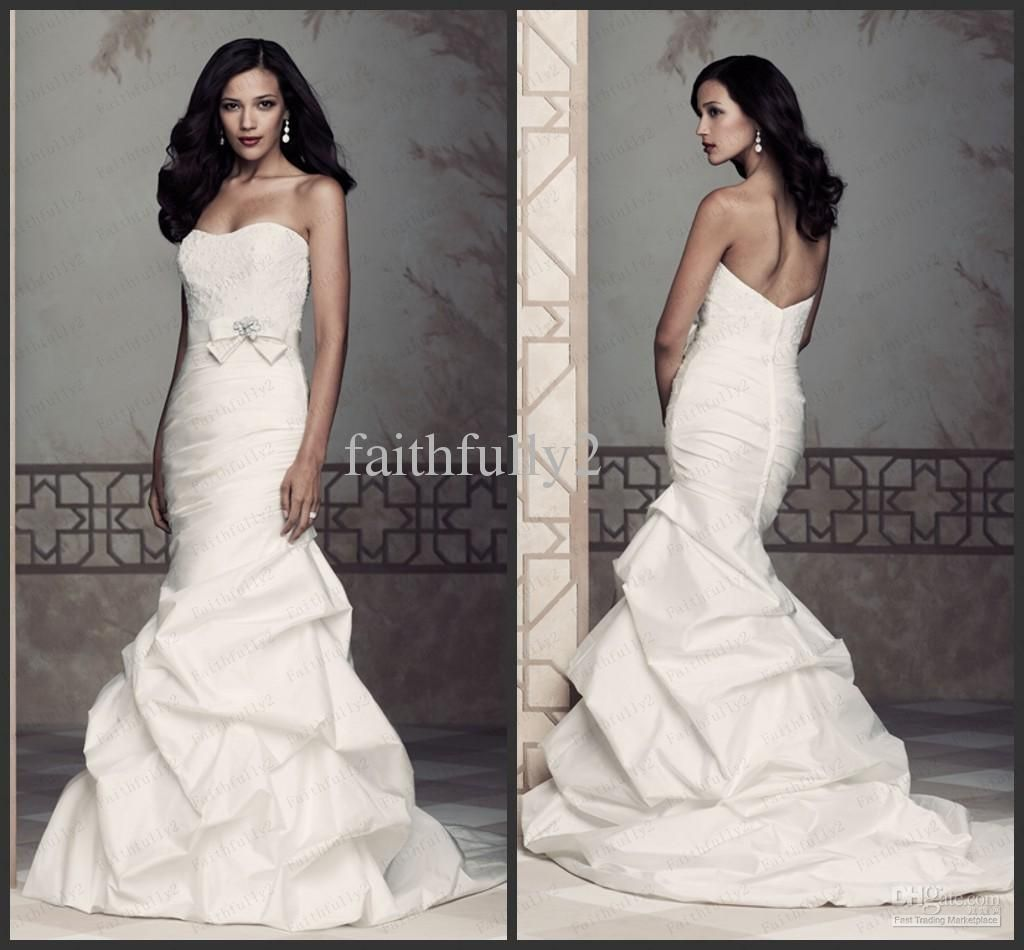Cheap Plus Size Wedding Dress 2017 Beaded Strapless Bodice: Discount Strapless Sweetheart
