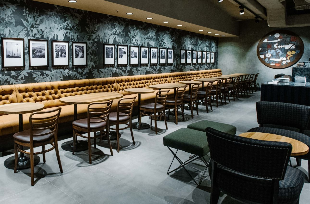 Starbucks Opens First Store In Slovakia Starbucks Open Starbucks Design Cafe Design