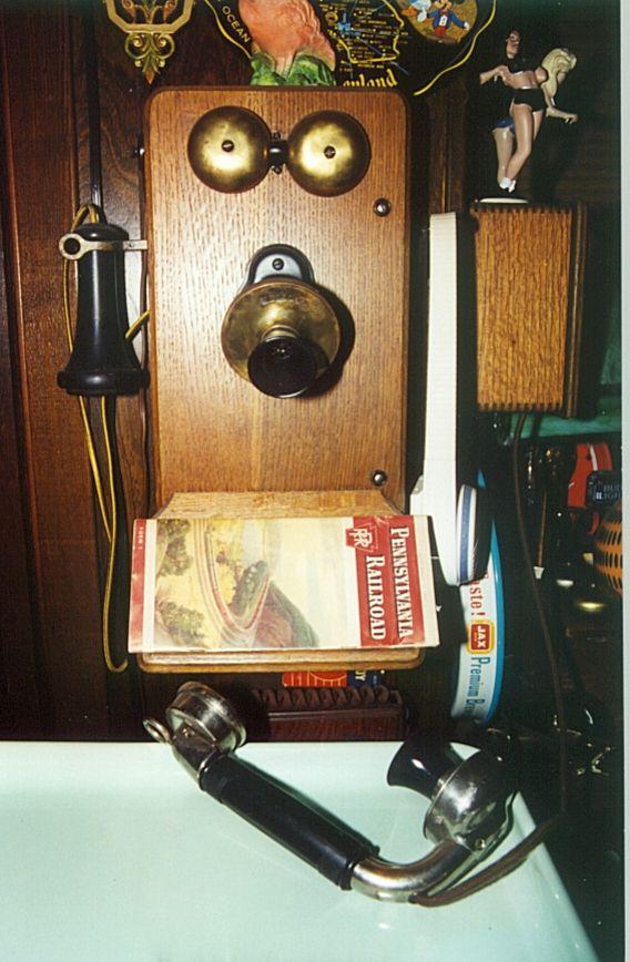Wooden Wall Phone Phone Phreaks Pinterest Wooden
