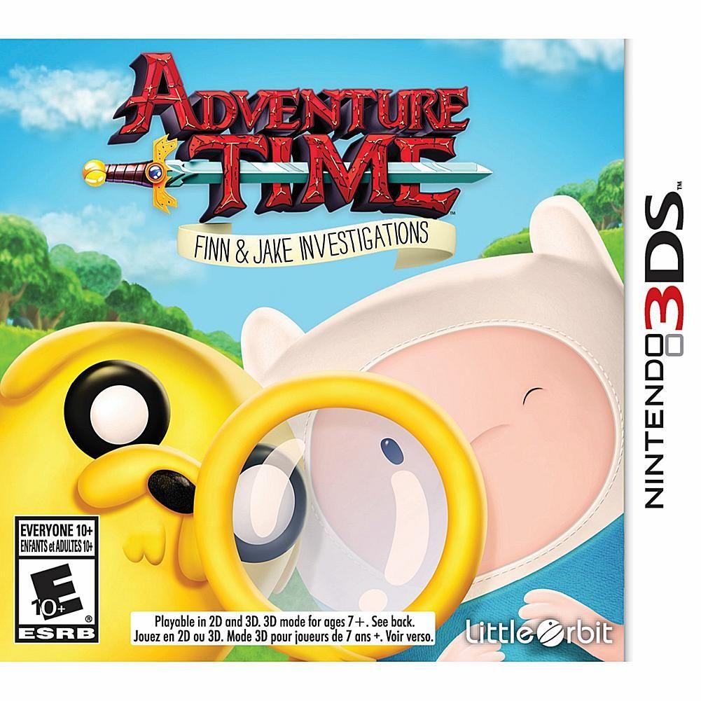 Adventure Time Finn Jake Investigations Nintendo 3ds