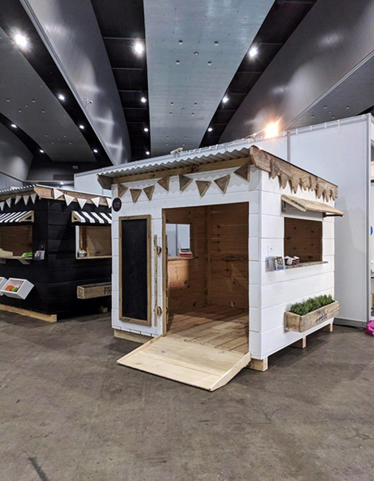 ACCESSIBLE CUBBY HOUSES FOR OUR SPECIAL NEEDS COMMUNITY in