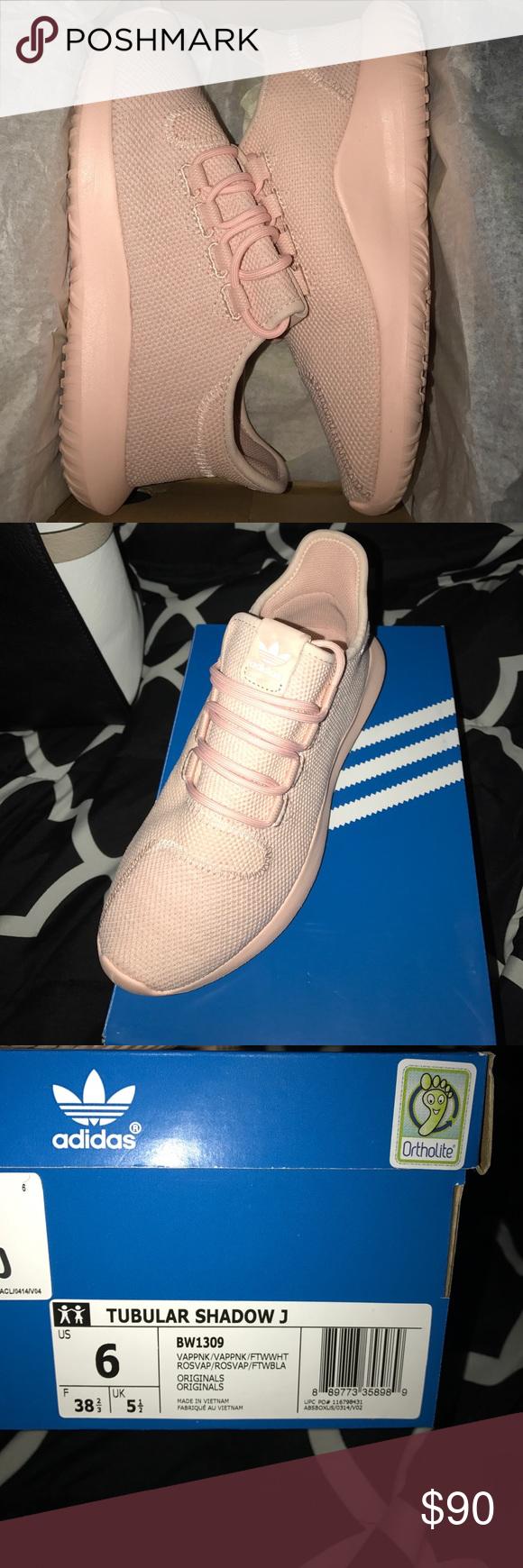 Pink Adidas Tubular Shadow 3 Youth size 6/ Adult size 8 Adidas Shoes Athletic Shoes