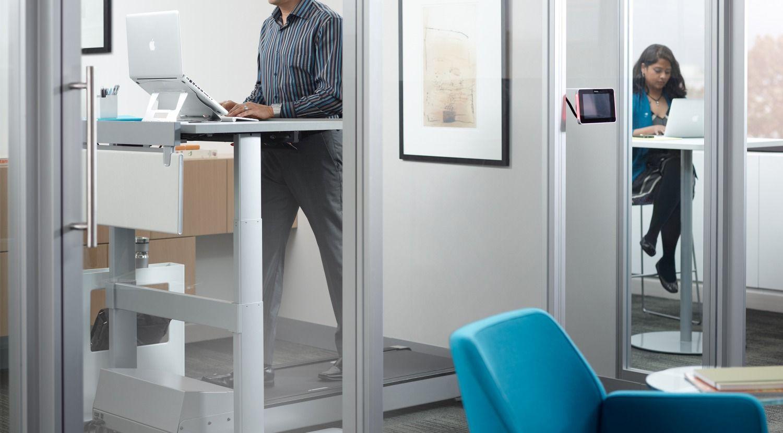 Walkstation | Treadmill desk, Steelcase, Desk